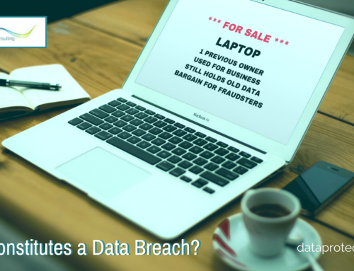 Identifying and acting on a personal data breach