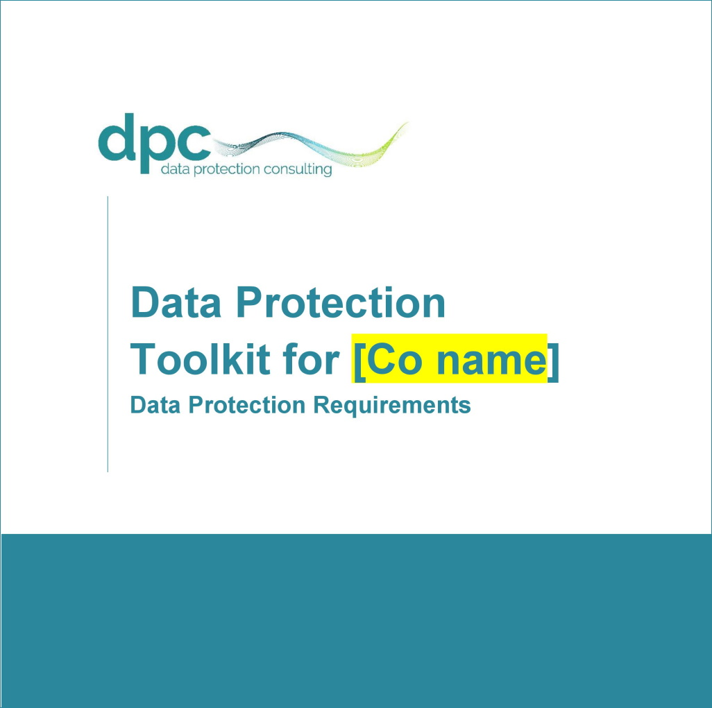 Data Protection Toolkit Front page - short
