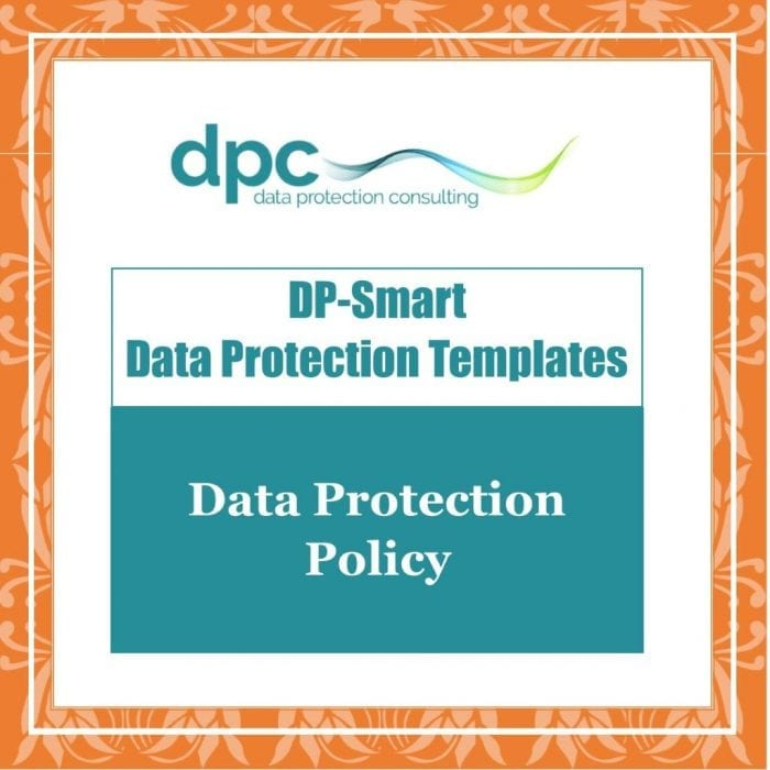 GDPR DP Smart Templates - Data Protection Policy