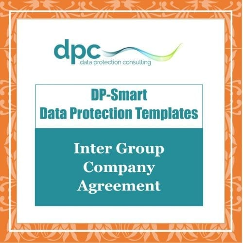 GDPR DP Smart Templates - Inter Group Company Agreement
