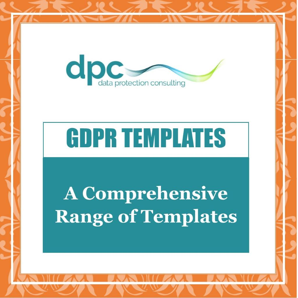 Link to GDPR Templates Page to buy and download GDPR Templates