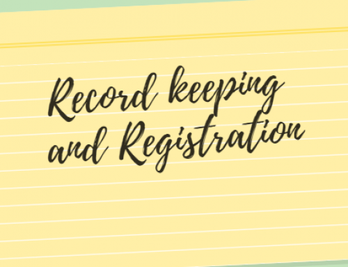 Record keeping and registration