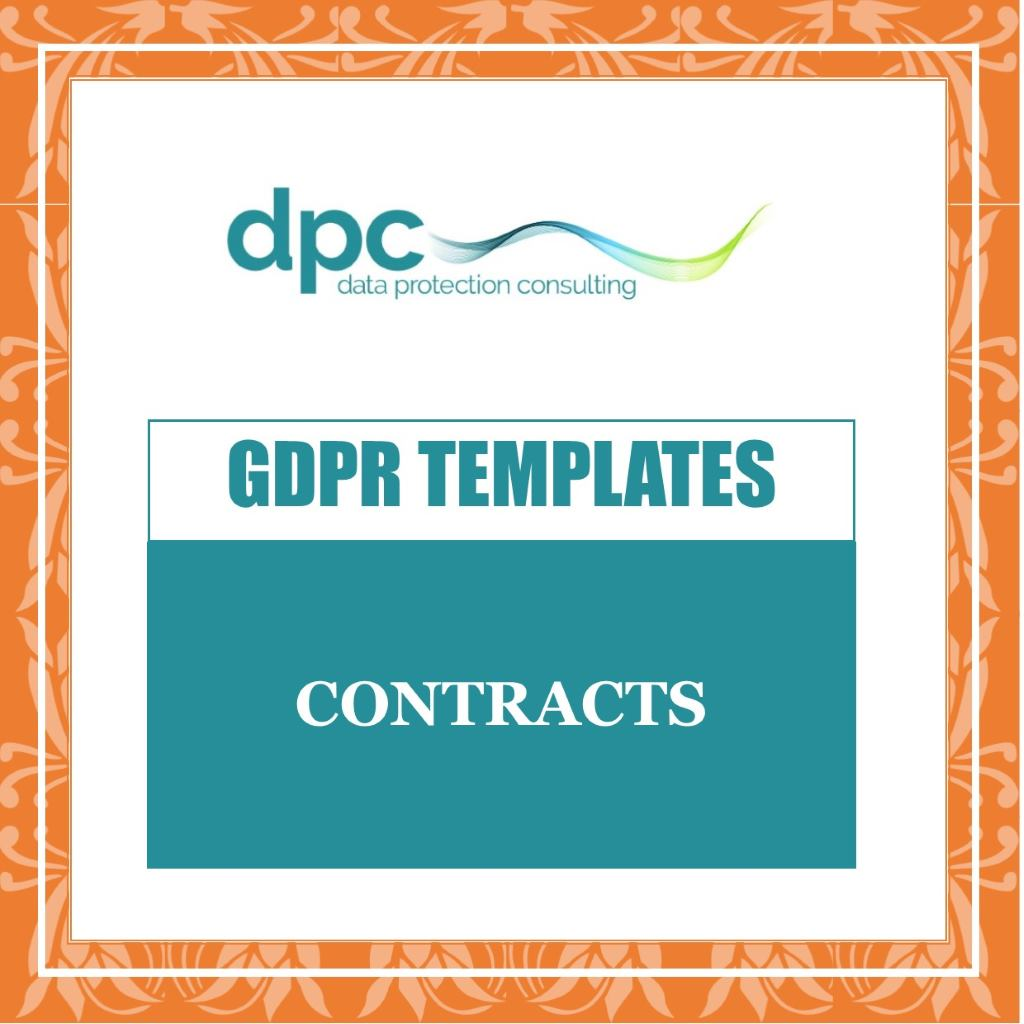 Shop Category - link to GDPR Contracts Templates to buy and download