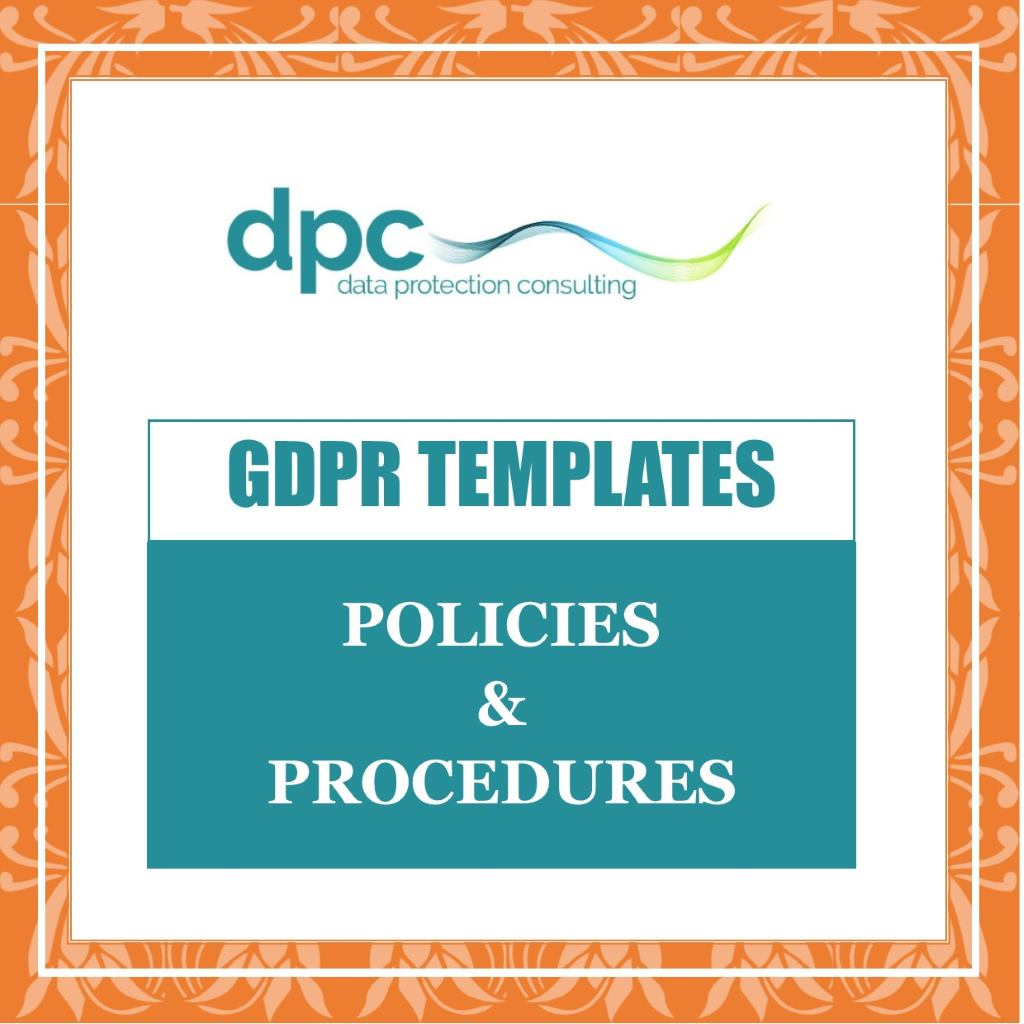 Shop Category - link to GDPR policy & Procedures Templates to buy and download